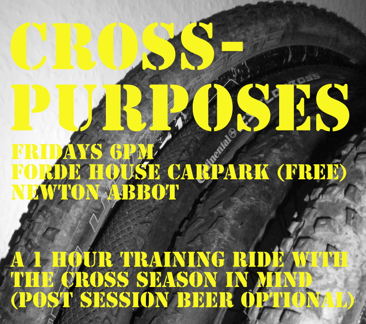 Cross puposes training ride